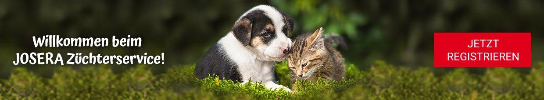 Josera Züchterservice für Hundezüchter und Katzenzüchter. Jetzt registrieren.